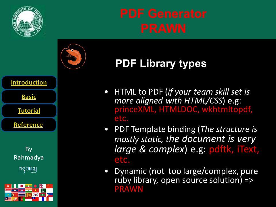 PDF Generation in Rails - ppt download