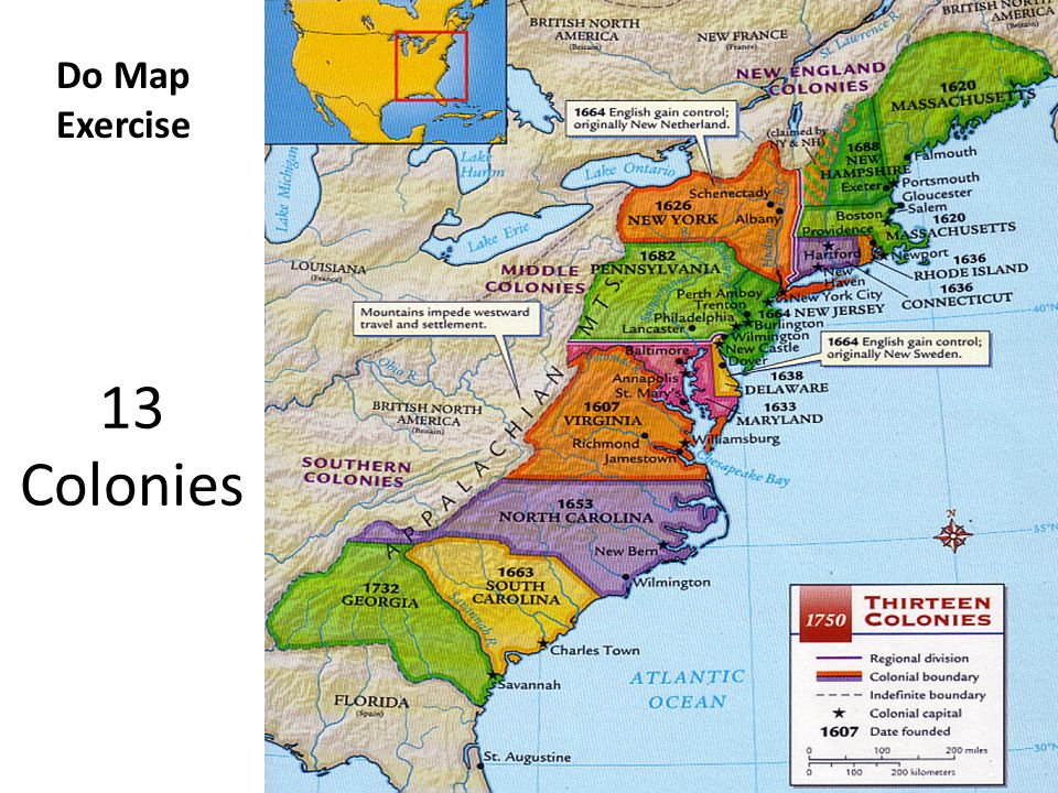 Usva history unit two three ppt video online download 22 do map exercise 13 colonies thecheapjerseys Gallery