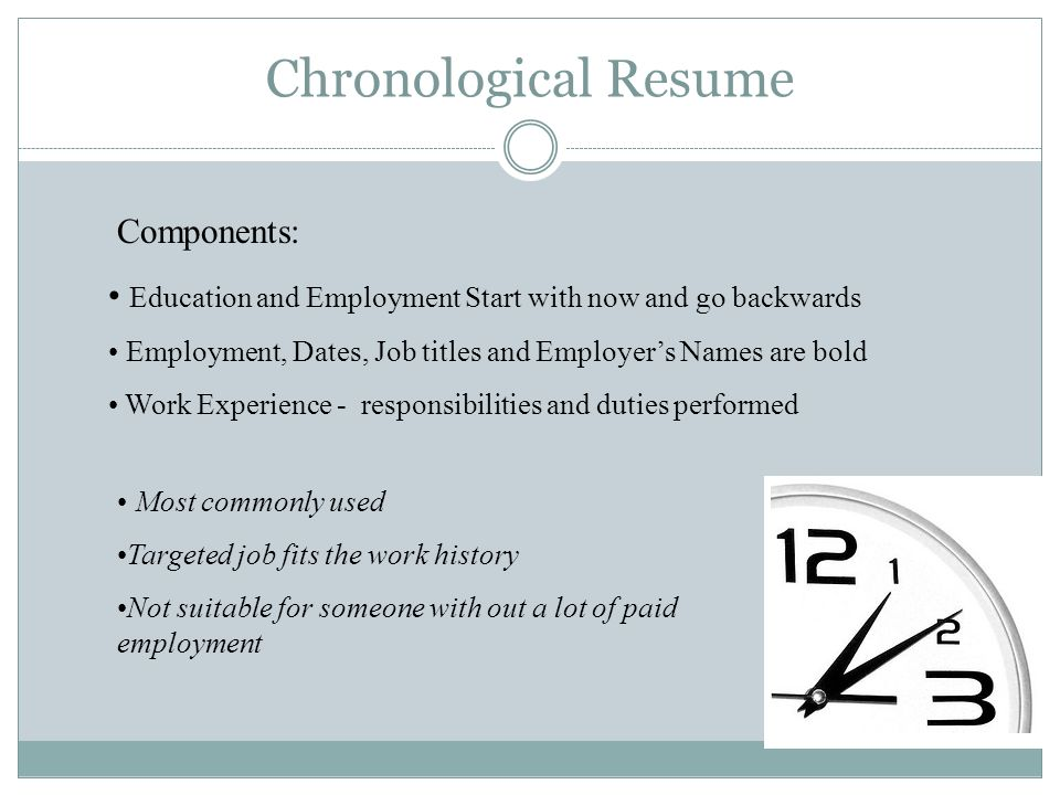 Resumes. - ppt video online download
