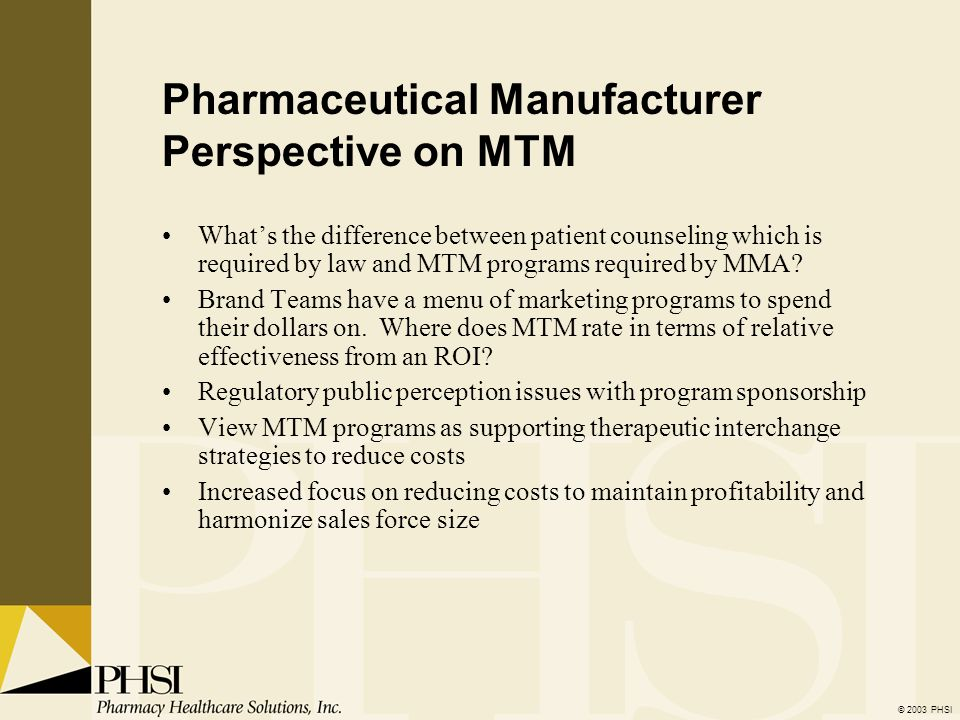 Medication Therapy Management: - ppt video online download
