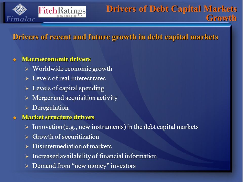 Drivers of Debt Capital Markets Growth