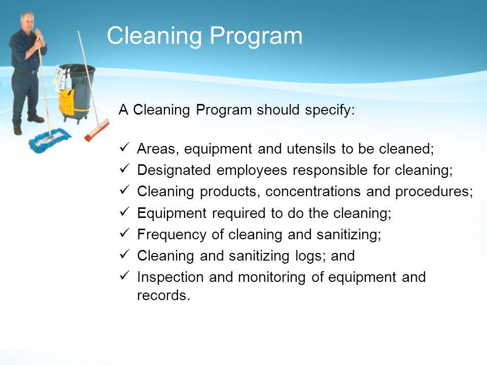 Hygienic Foodservice Operation