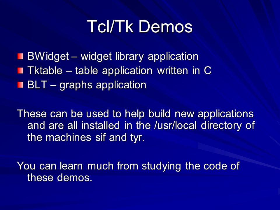 Tcl/Tk Part ppt video online download