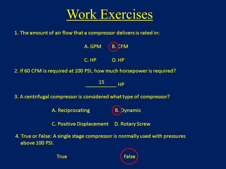 Air Compressors Capacity Horsepower Pressure Duty Cycle