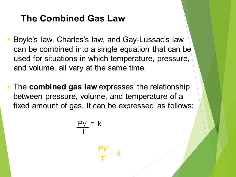 GAS LAWS ! DALTON, BOYLE, CHARLES, GAY-LUSSAC COMBINED GAS