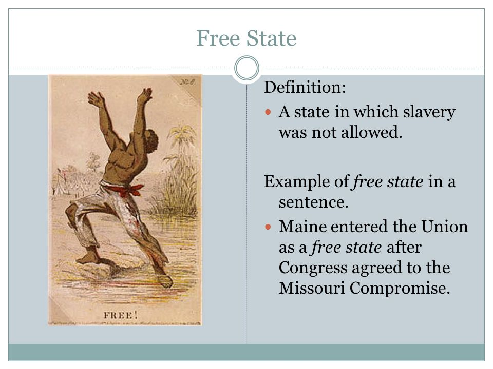 missouri compromise in a sentence