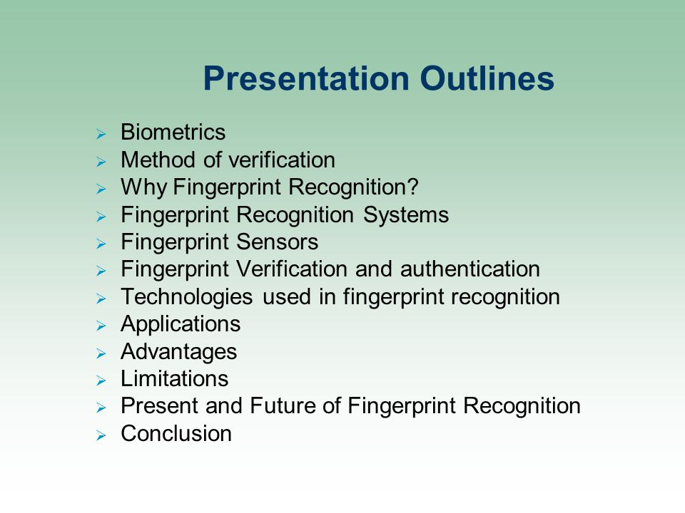 Ppt – fingerprint recognition using matlab (using minutiae.