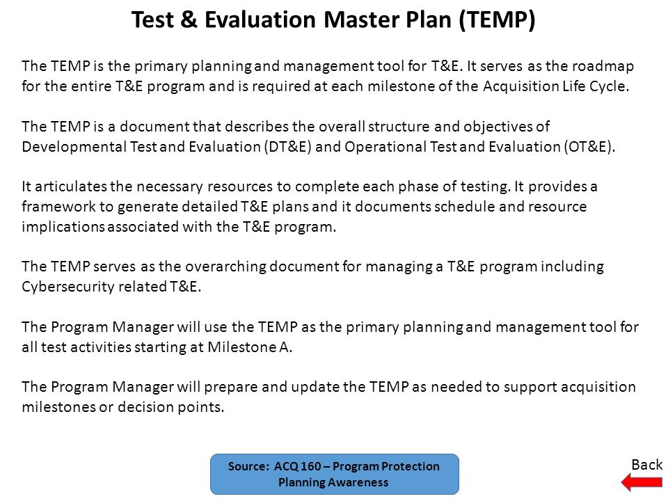 14 Test Evaluation Master