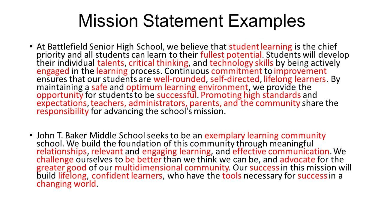 Hermosa School Vision And Mission Statement Ppt Video Online Download