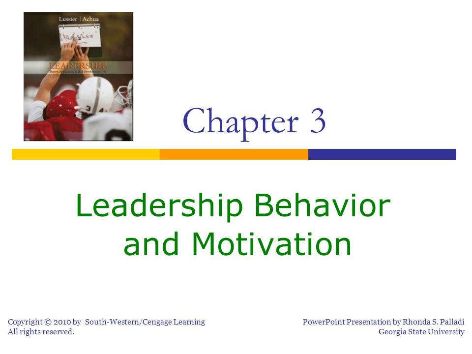 Leadership Behavior and Motivation - ppt download