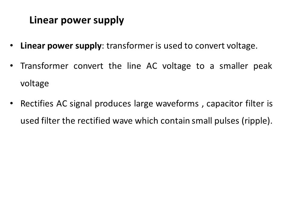Power supply  - ppt download