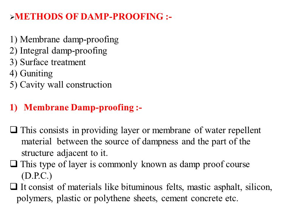 Basement waterproofing | damp proofing basement floor| basement.