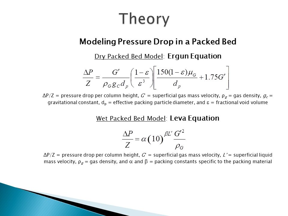 Packed Column Experiment - ppt video online download