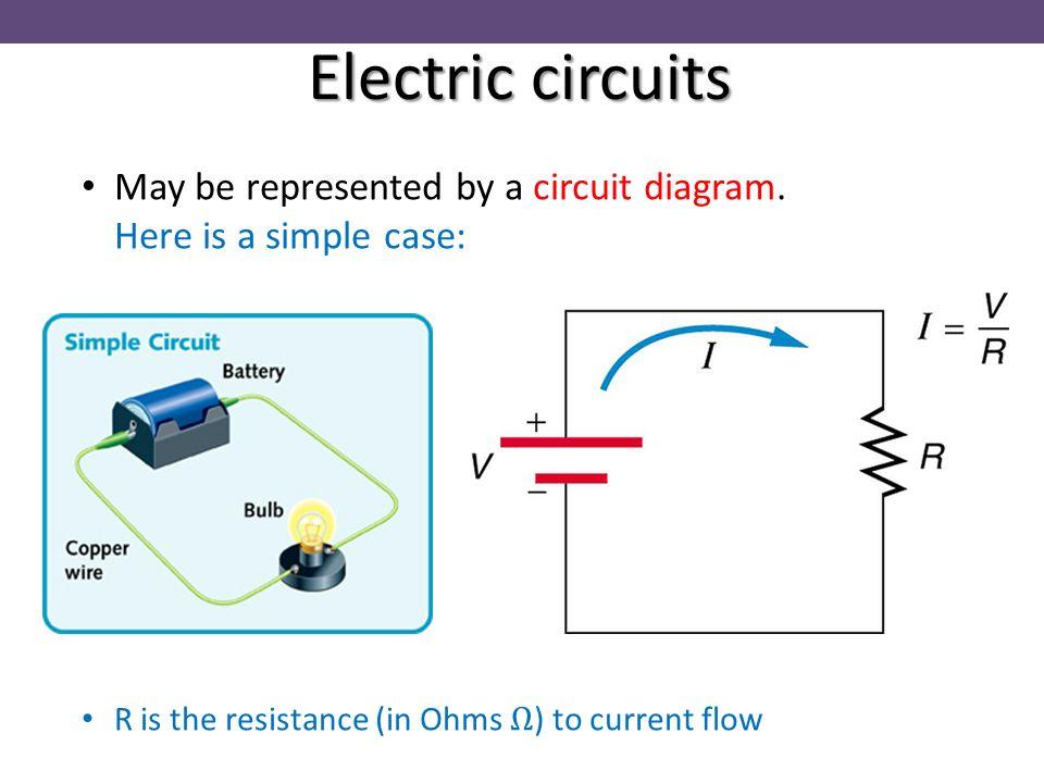 simple electrical circuit diagram - 960×720