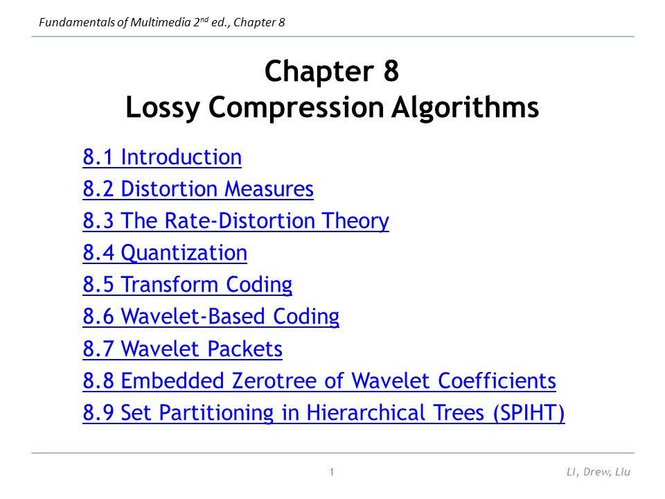 types of compression algorithms