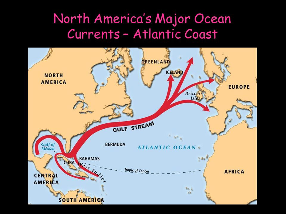 Major Ocean Currents Of The World Map.Ocean Currents Ppt Video Online Download