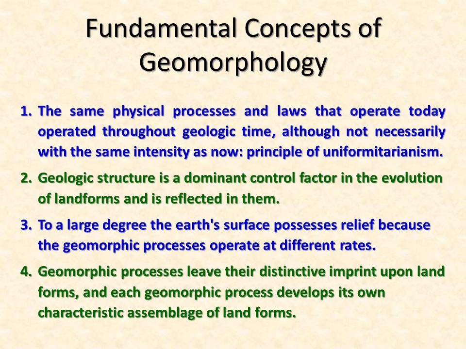 Ege 512 Structural Geology And Applied Geomorphology Total Credit