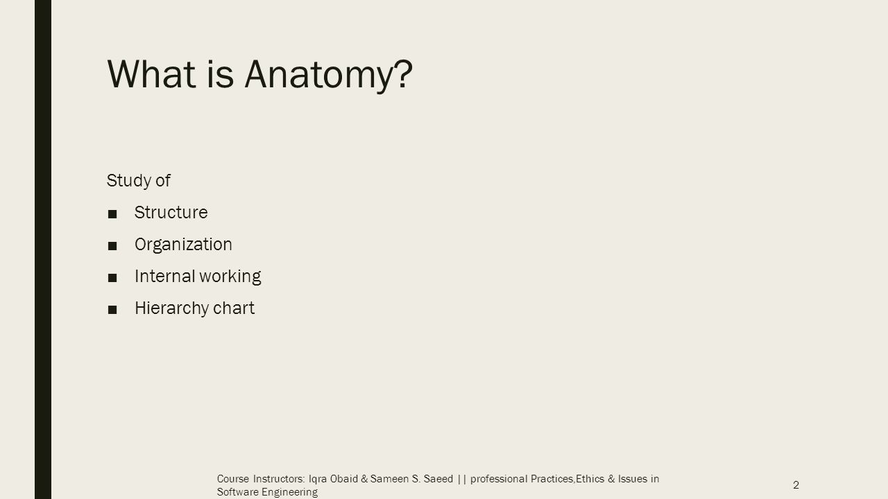 Anatomy Of A Software House Ppt Video Online Download