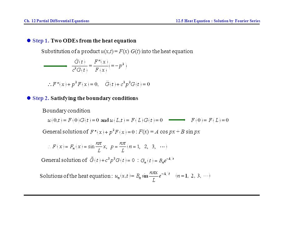 Ch  12 Partial Differential Equations - ppt video online download