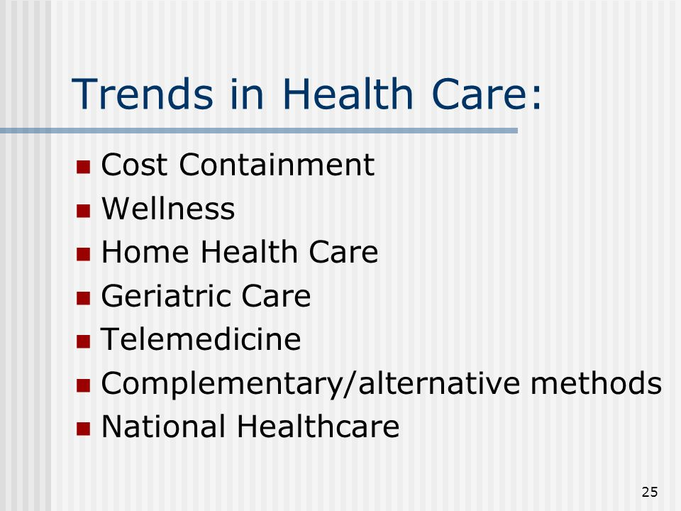 analysis of contemporary health care issues Consumerism in healthcare is changing the industry, as patients are paying far closer attention to the costs of medical care than in the past this change will likely.