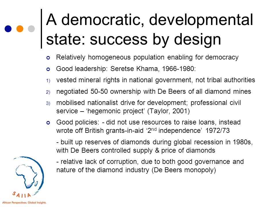 good leadership contributes to the success of democracy