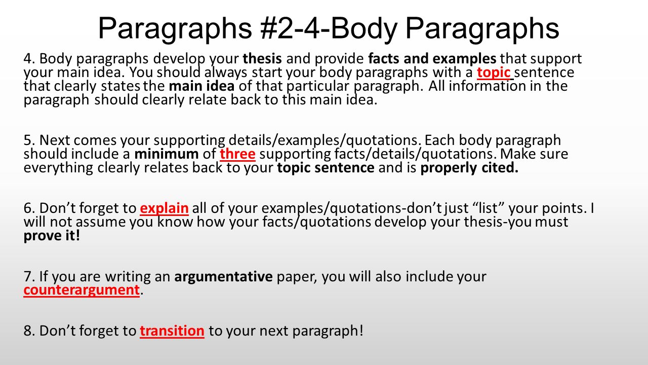paragraph #1-introduction - ppt download
