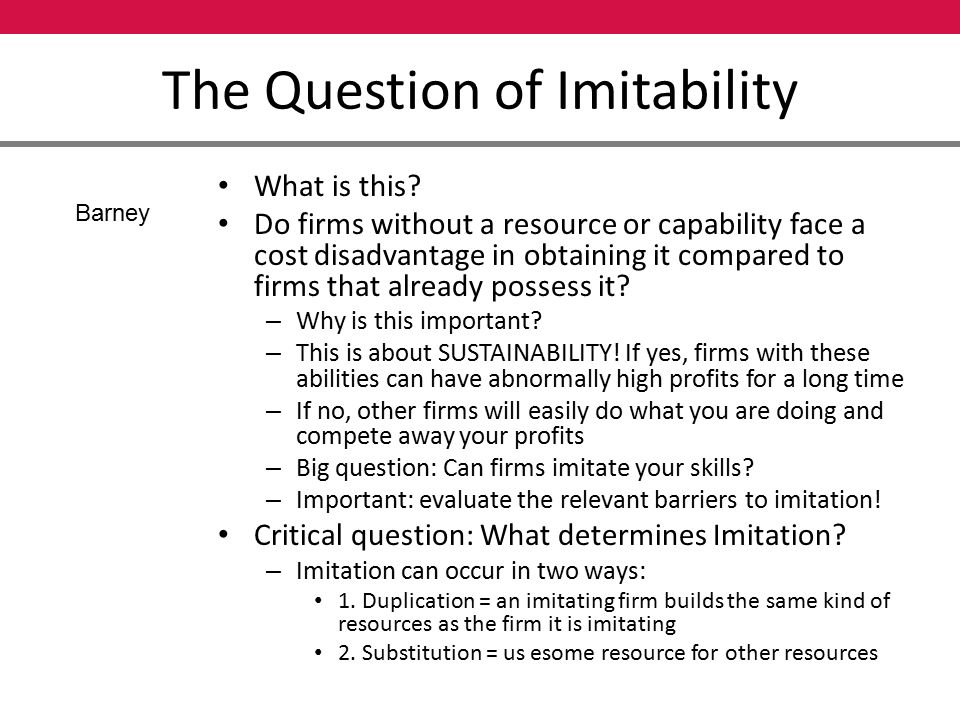 Internal Analysis Resources and Capabilities - ppt video online download