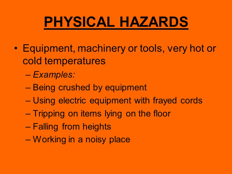 Hazards and prevention ppt video online download.