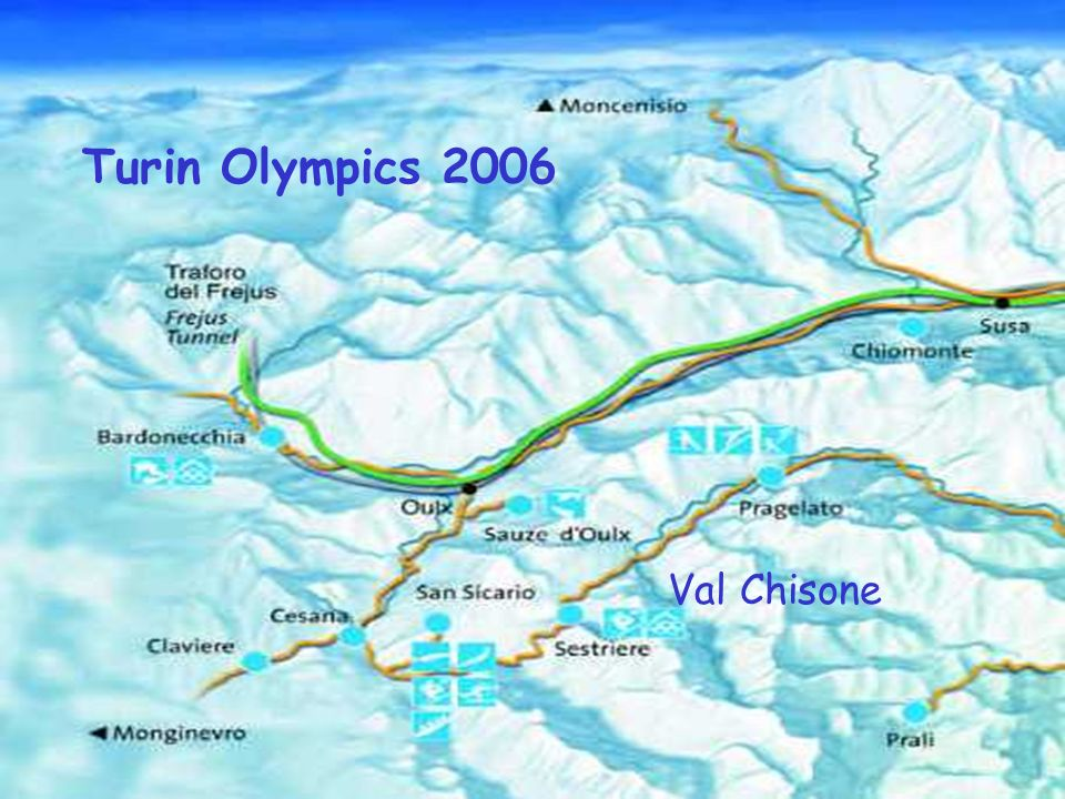 Turin Olympics 2006 Val Chisone