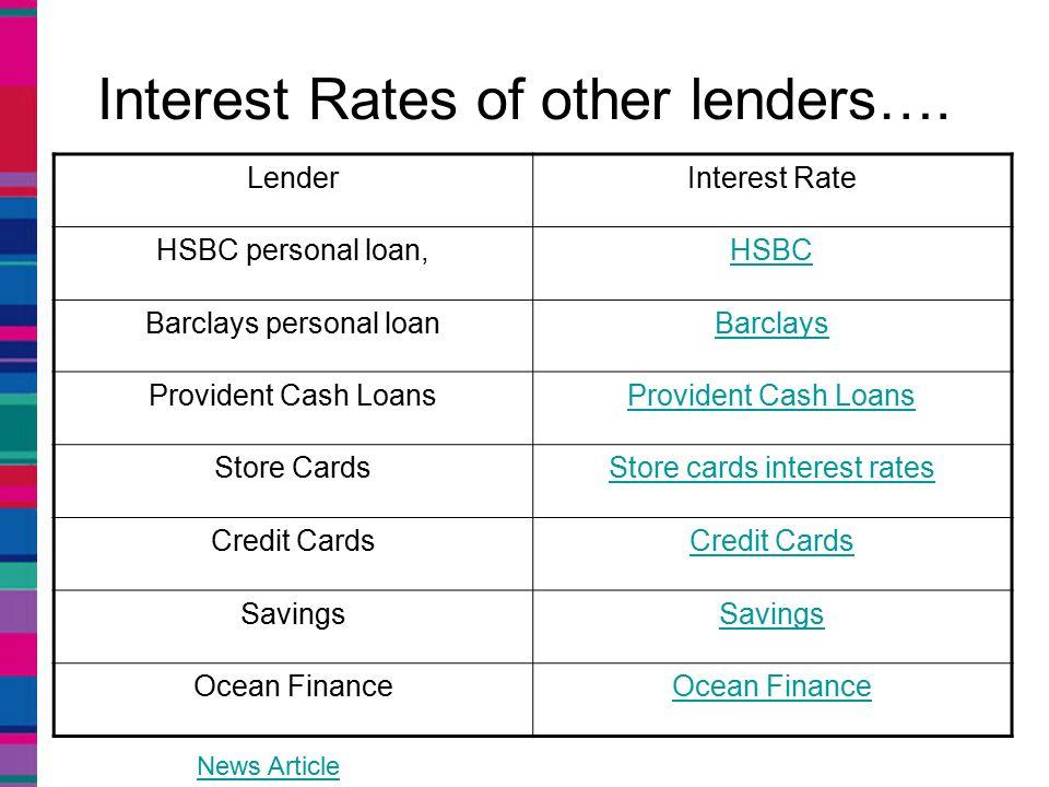 Hsbc Savings Rate