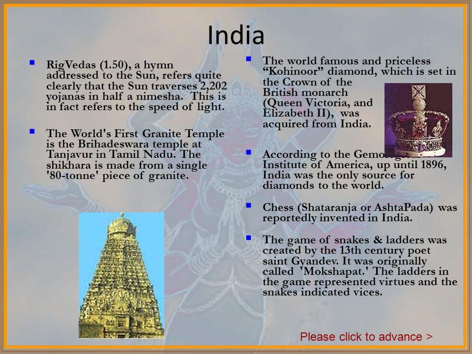 India's Civilized Past Please click to advance >  - ppt