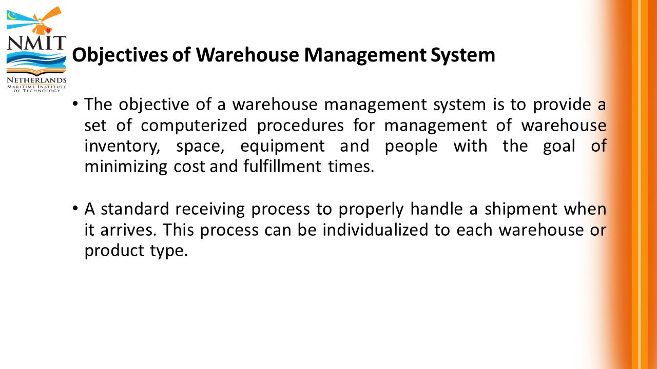 MRI 2315 Warehousing and Distribution - ppt video online
