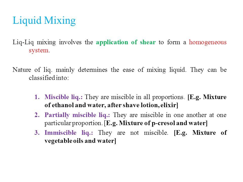 Liquid Mixing Ashis Kumar Podder  - ppt video online download