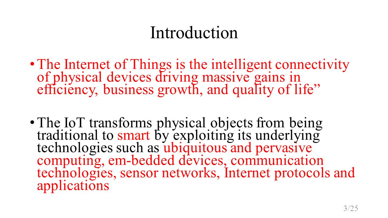 Internet Of Things Iot Ppt Video Online Download