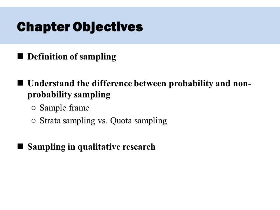 Chapter 5 – Sampling. - ppt video online download