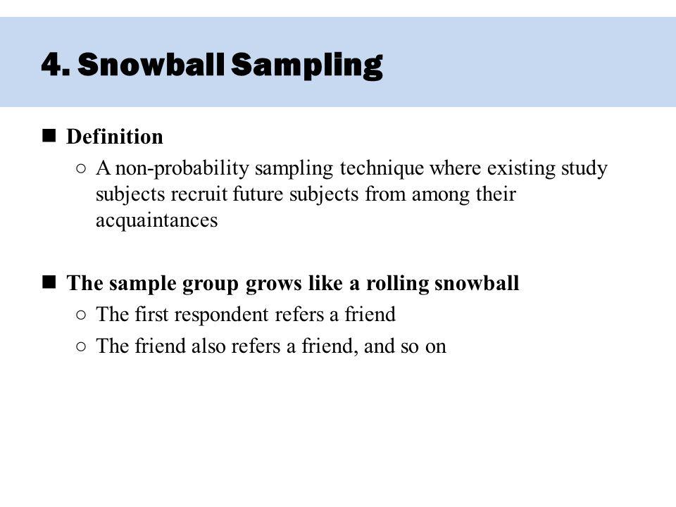 Non-probability sampling techniques pdf.