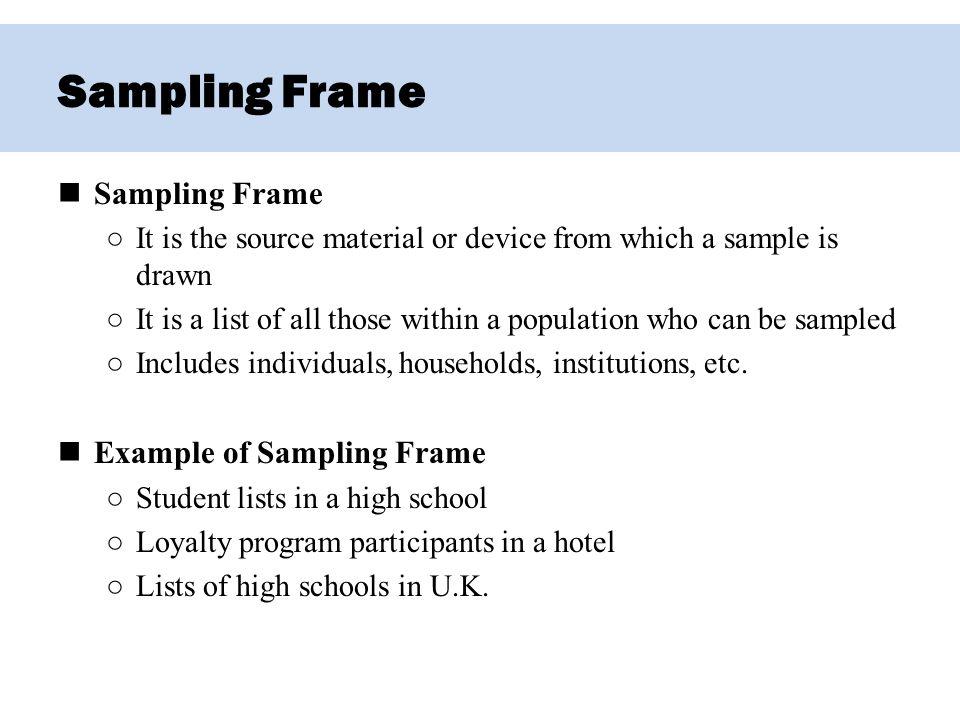 Chapter 5 – sampling. Ppt video online download.