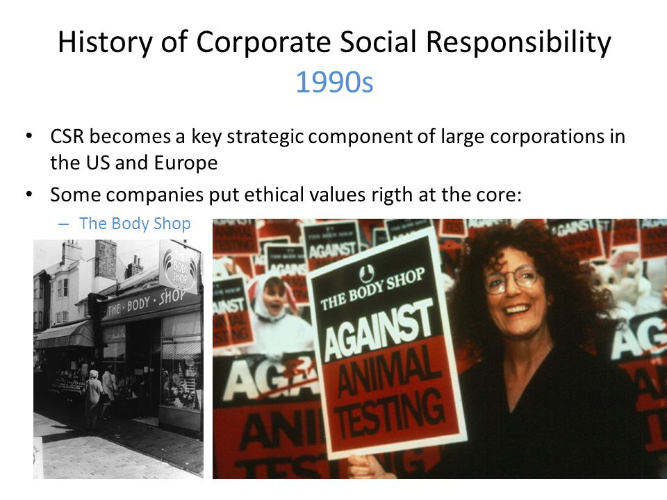 the body shop corporate social responsibility