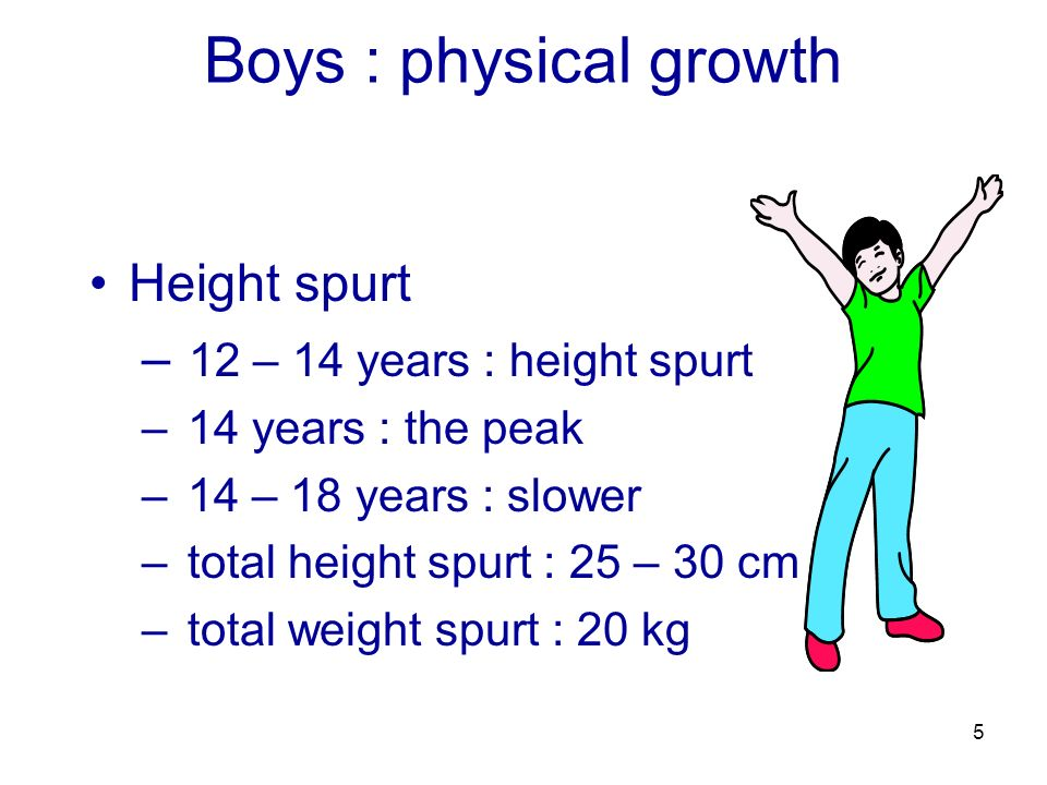 how to get a growth spurt at 14