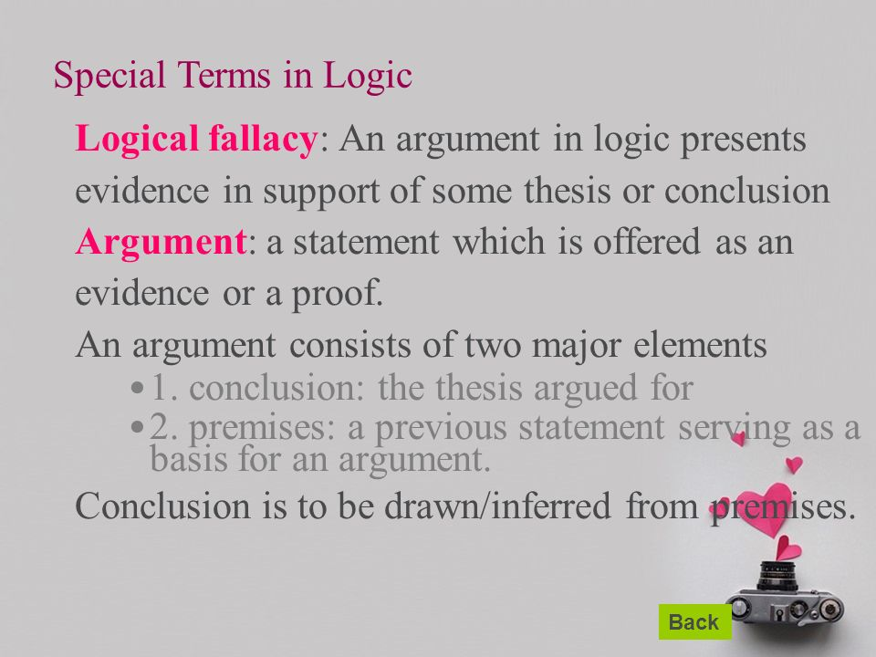Thesis of love is a fallacy how to write a mixed number as a decimal