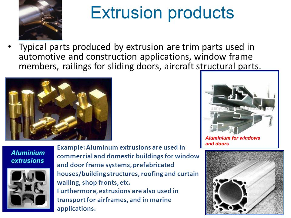 Chapter 6 Extrusion Ppt Download