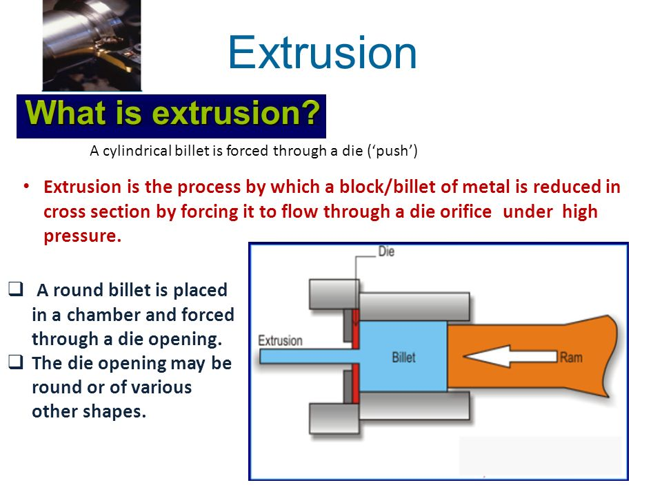 High Pressure Extruder : Chapter extrusion ppt download