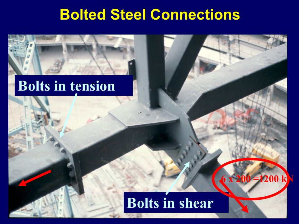 Bolted Steel Connections
