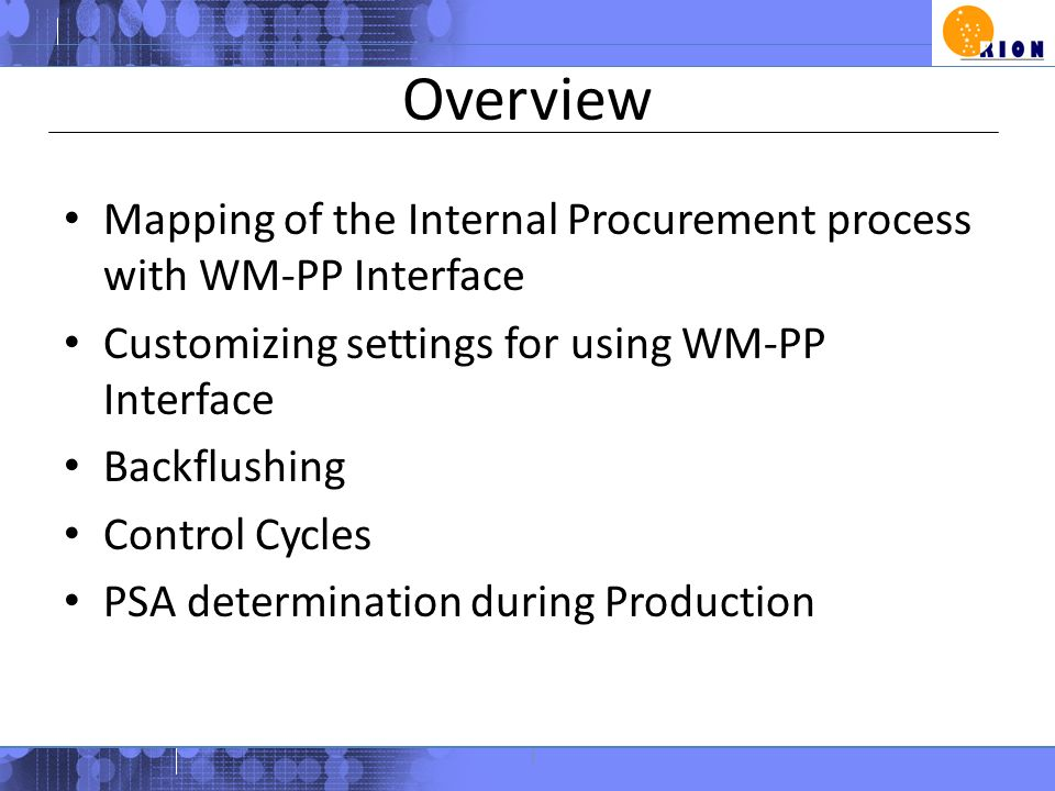 Materials Handling Knowledge Sharing Session - ppt video