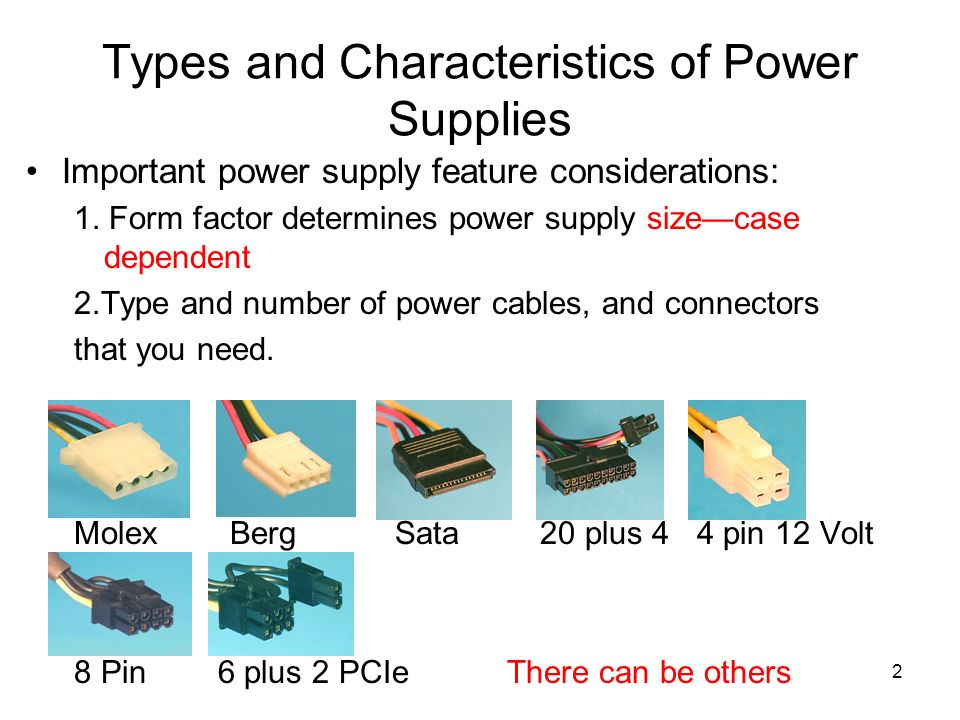 Selecting a Power Supply - ppt video online download