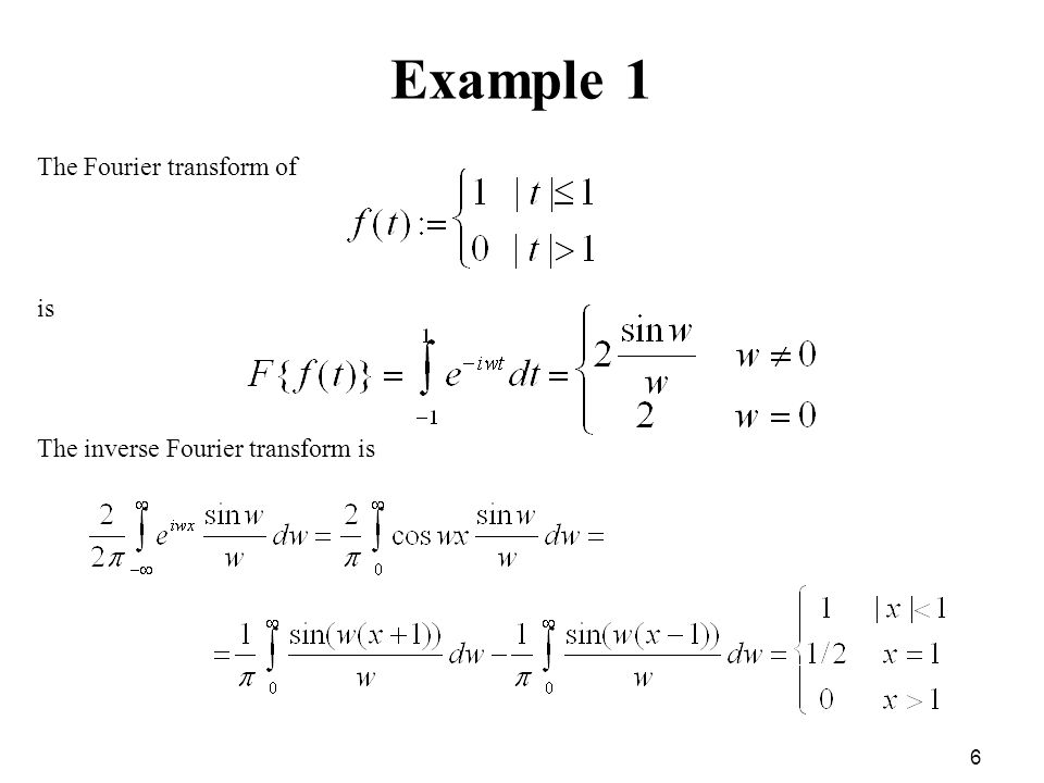 Math For Cs Fourier Transforms Ppt Video Online Download