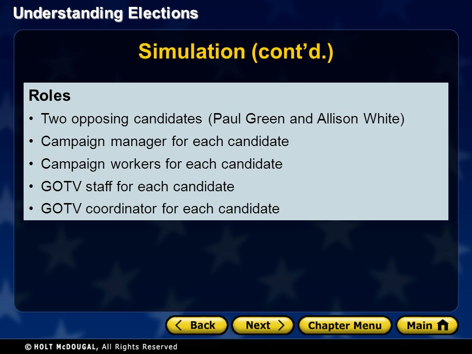 Chapter 12: Understanding Elections - ppt video online download