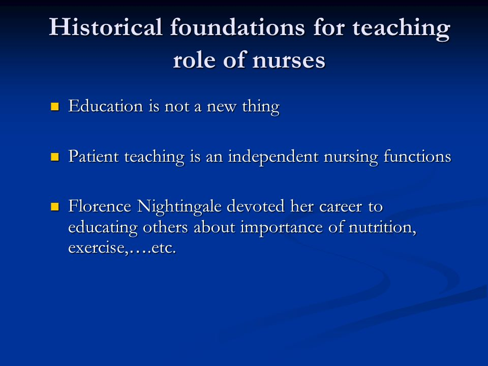 The Role Of Independent Educational >> Overview Of Education In Health Care Ppt Video Online Download