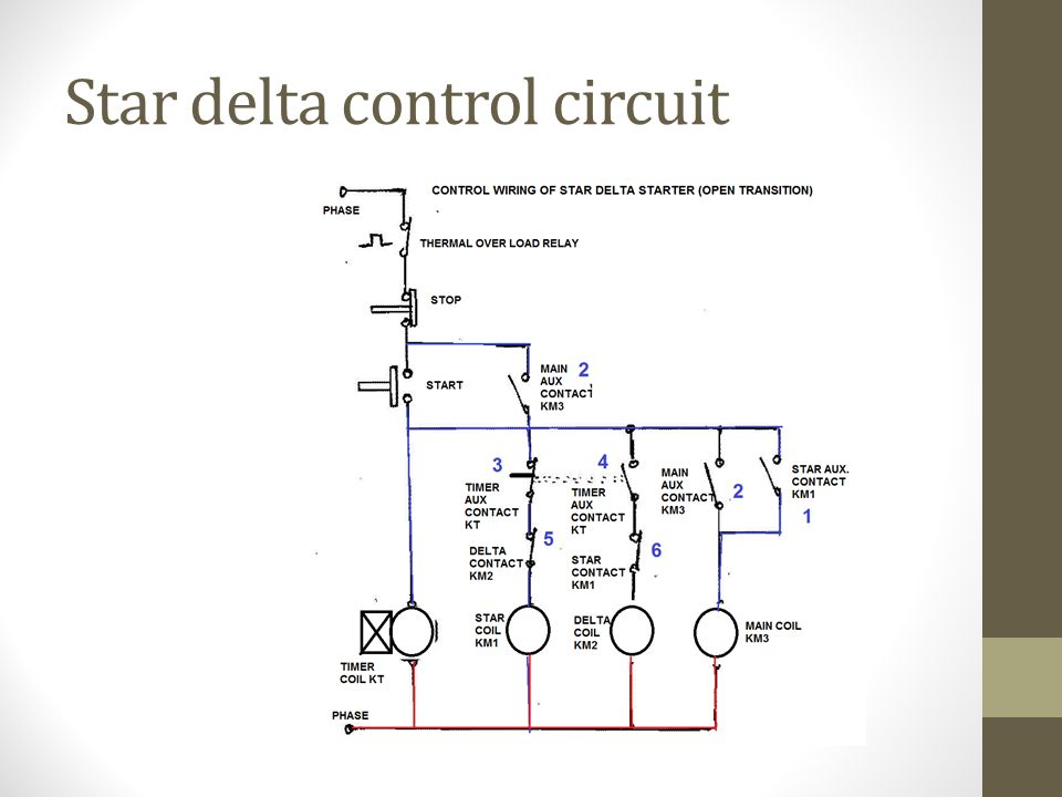 Elements Of Electrical Design Hasmukh Goswami College Engineering. 15 Star Delta Control Circuit. Wiring. Star Delta Starter Wiring Diagram Simple At Scoala.co