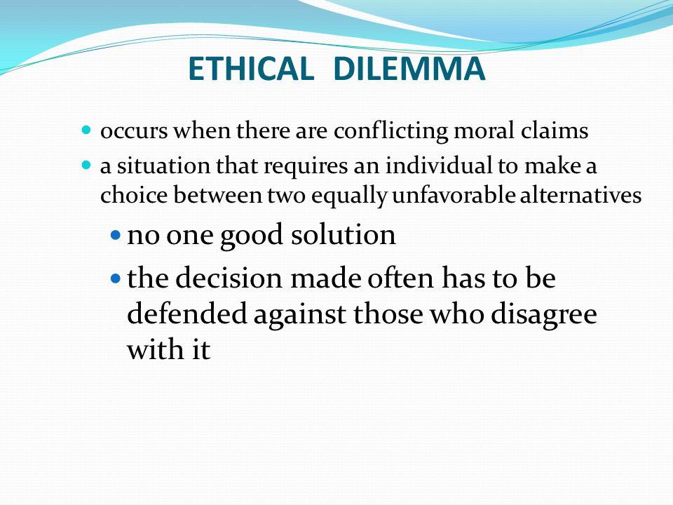 moral dilemma topics